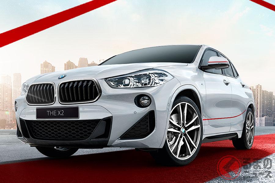 BMW X2 sドライブ18d M スポーツ エディション サンライズ