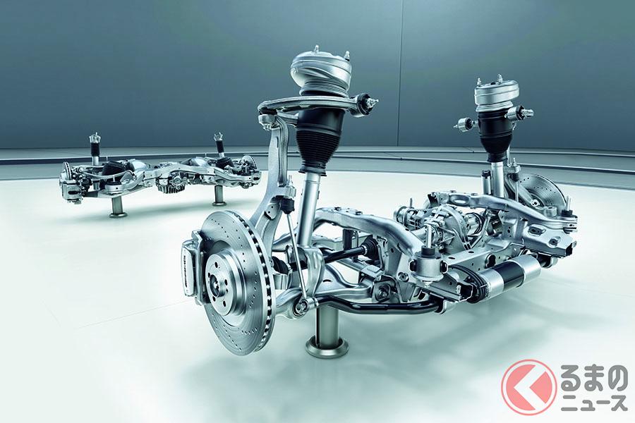 メルセデス・ベンツ「AMG GLE 53 4MATIC+(ISG搭載モデル)」に搭載されるAMGアクティブ ライド コントロール