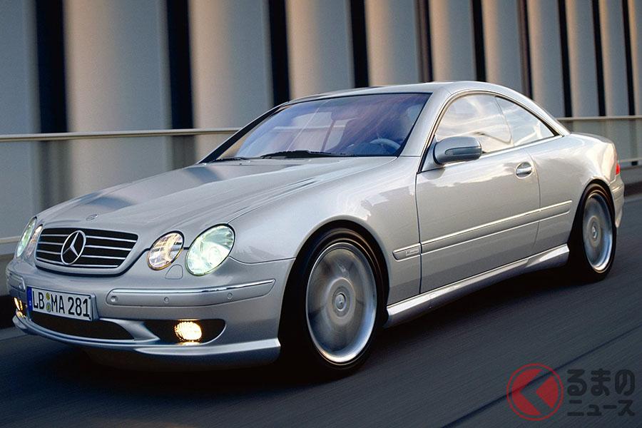 2000年5月に発売された全世界55台限定のメルセデス・ベンツ「CL55AMG F1リミテッドエディション」