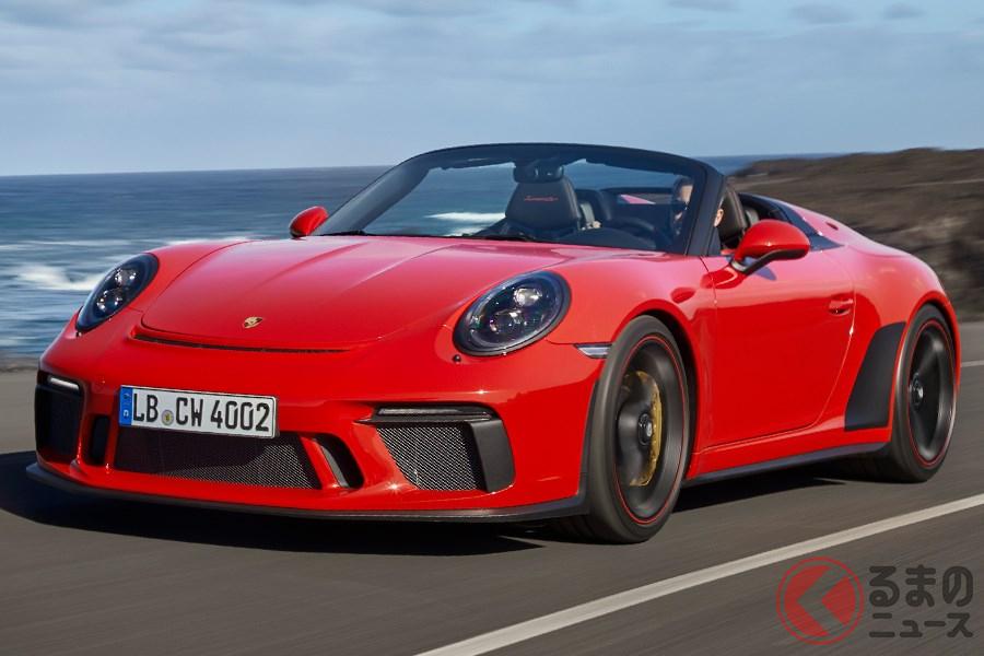 「911」のモデル末期に発売される「スピードスター」の最新モデル