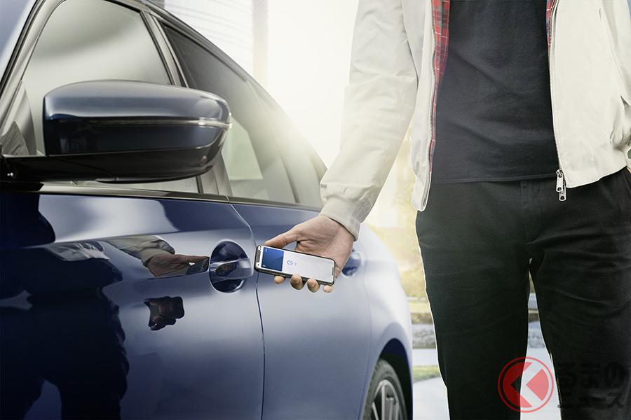 AppleがBMWに搭載するデジタルキー「Apple carKey」。今後、Apple CarPlayのように普及するのか?