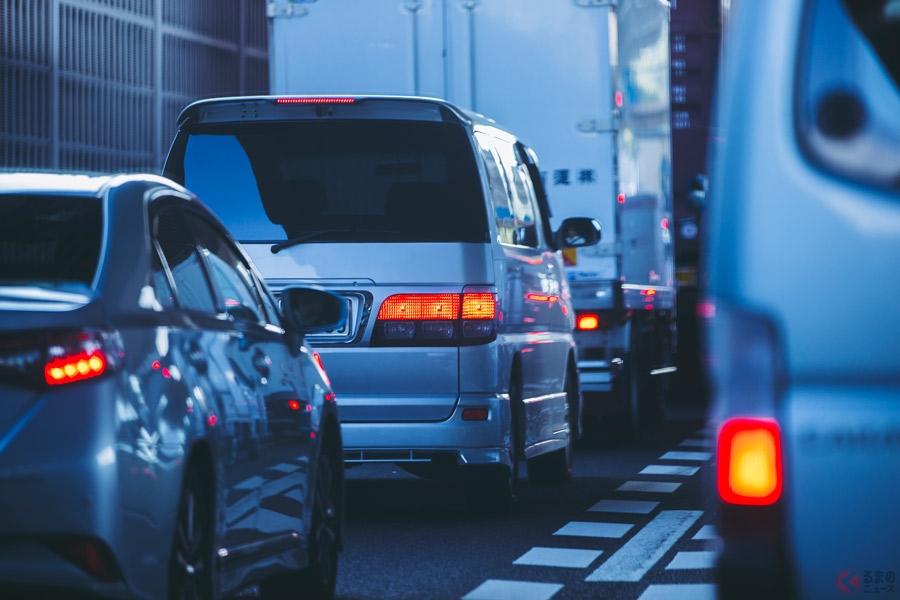 お盆は毎年渋滞が多発する季節