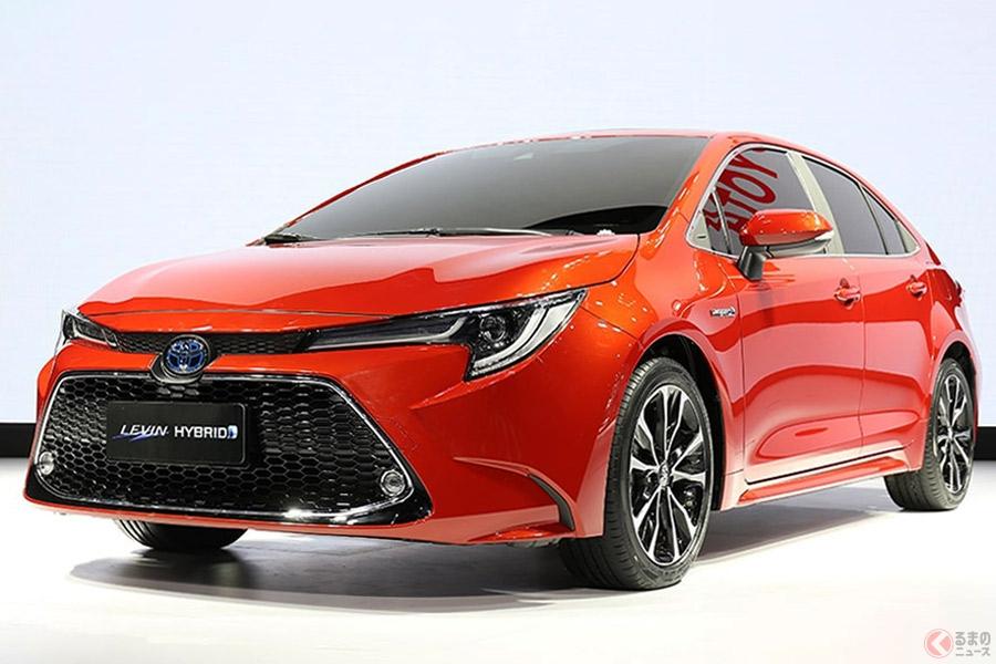 中国の新政策はトヨタに追い風となるか(写真はトヨタが中国で発表した『レビン』)