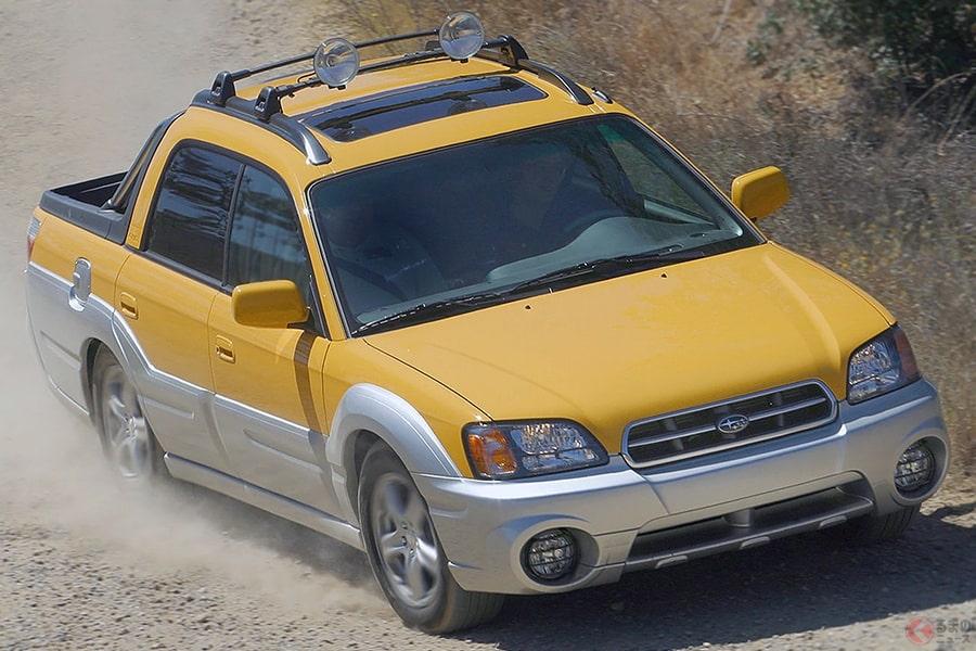 ダブルキャブのピックアップトラック、スバル「バハ」