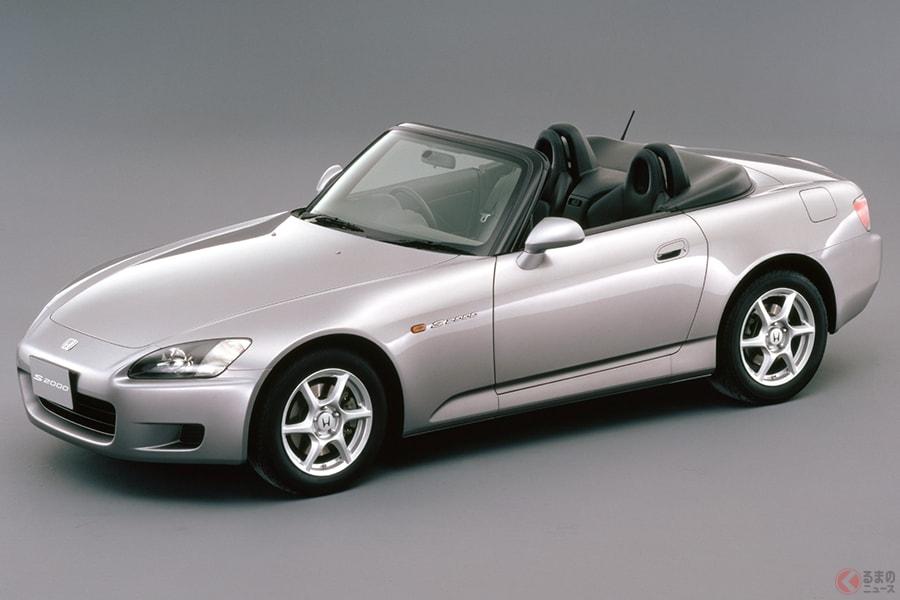 ホンダ創立50周年を記念して発売されたFRスポーツ「S2000」