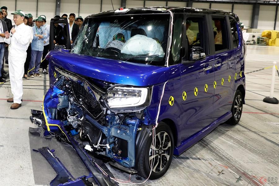 軽自動車やミニバン、コンパクトカーにもある衝突時の弱点とは
