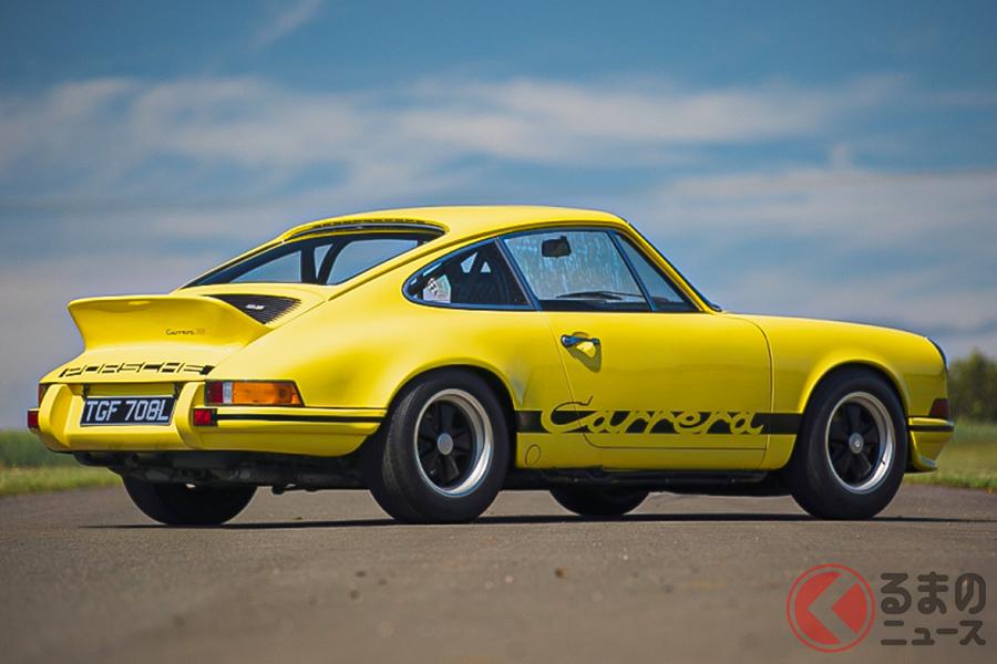第1次スーパーカーブームのころ、ポルシェといえば「911カレラRS2.7」であった