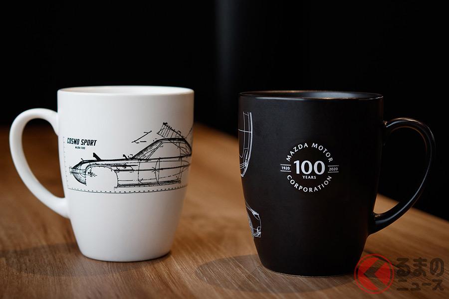 マツダコレクションでラインナップされるマグカップ