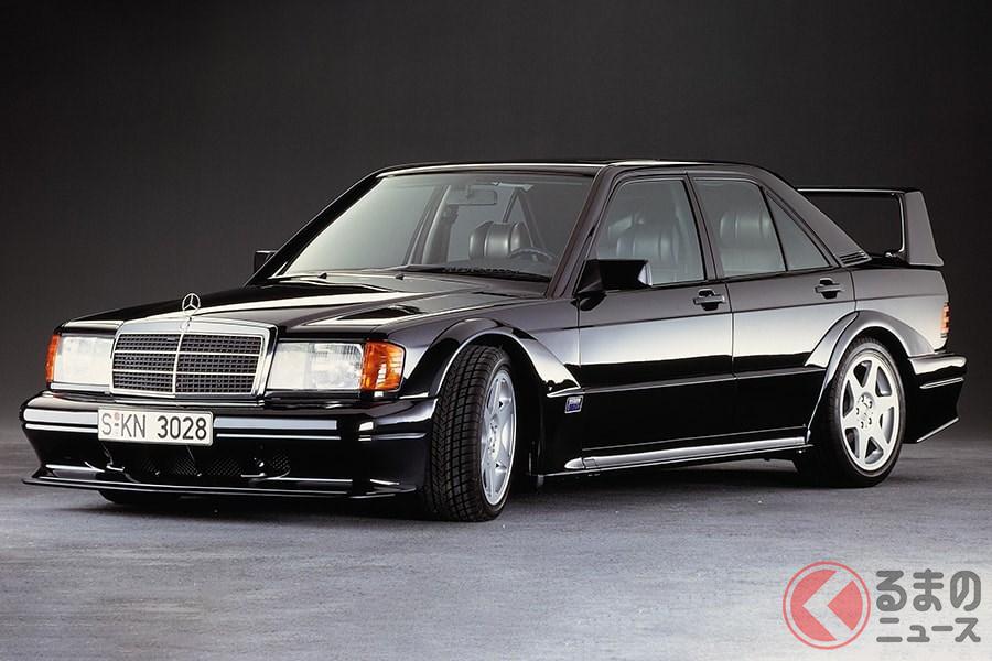メルセデス・ベンツ流の高性能車だけあって、過激さのなかに高級感もある「190E 2.5-16 エボリューションII」