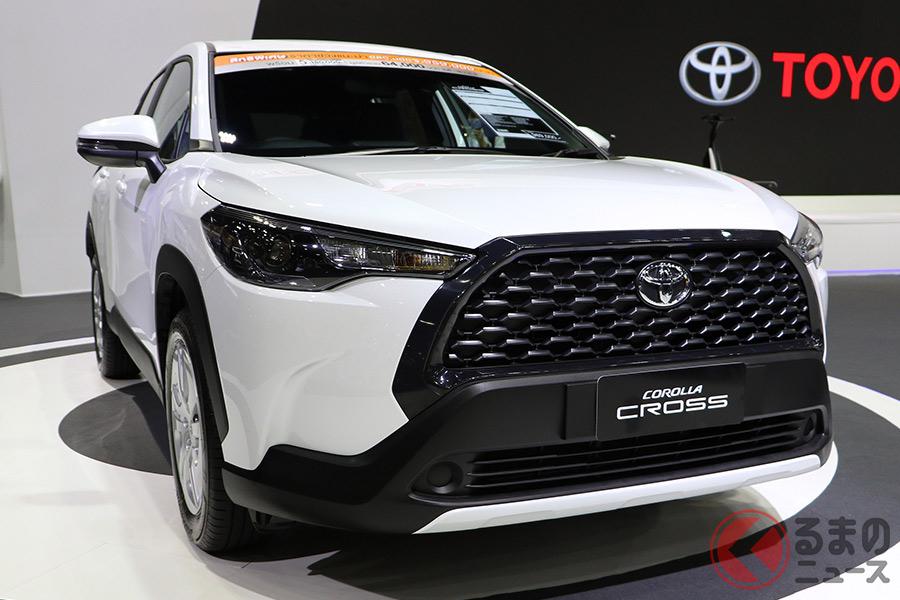 日本導入が期待されるトヨタ「カローラクロス」