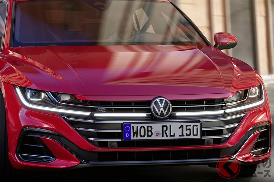 VW新型「アルテオン」R-Line