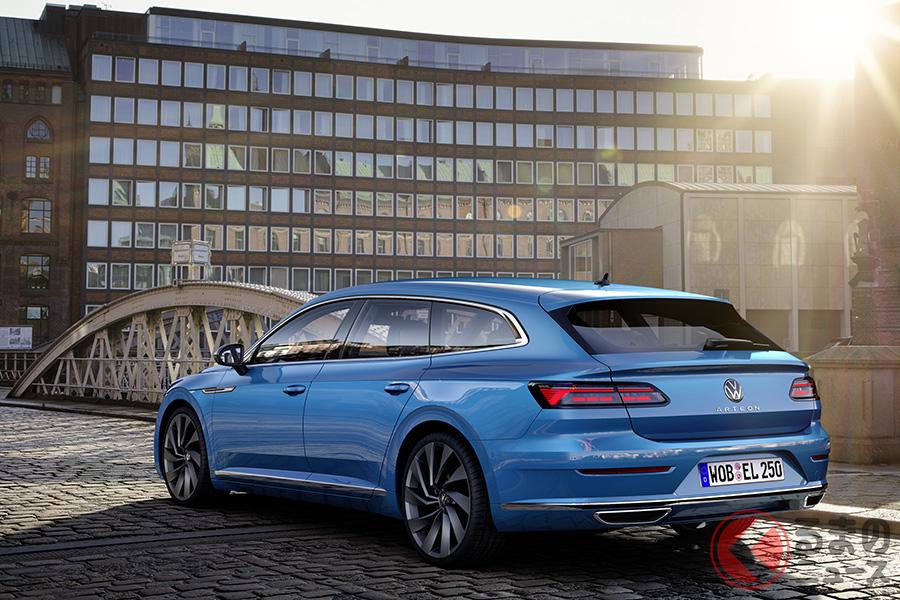 VW新型「アルテオン シューティングブレーク」