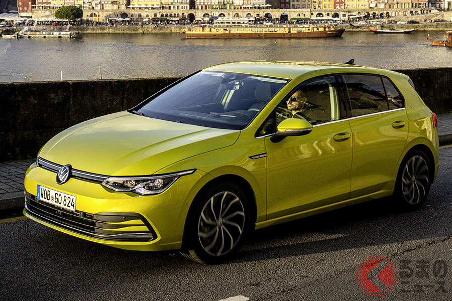VW新型「ゴルフ8」
