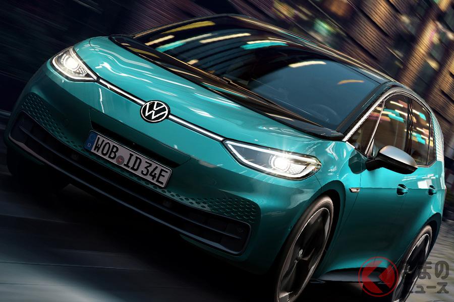 フォルクスワーゲンの電気自動車「ID.3」