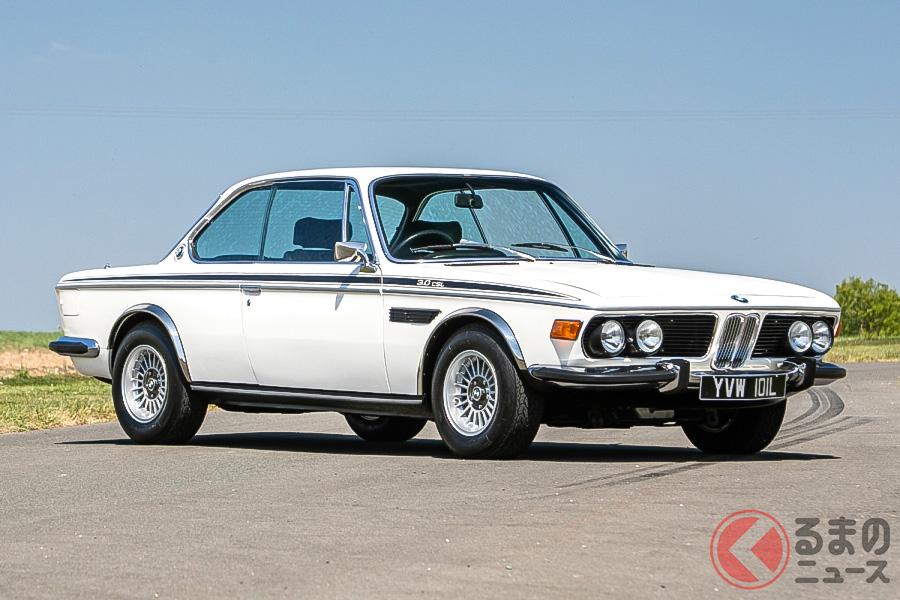 ジェイ・ケイが所有していた1972年型BMW 3.0 CSL。希望落札価格には届かなかった(C)SILVERSTONE AUCTIONS