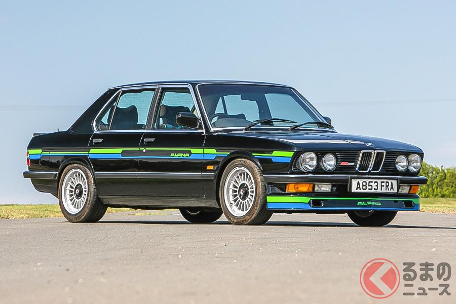 1983年型BMWアルピナB9-3.5は、約517万円で落札された(C)SILVERSTONE AUCTIONS