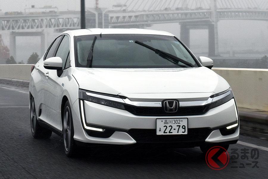 ホンダは2020年7月時点でハイブリッド車と燃料電池車を国内展開している