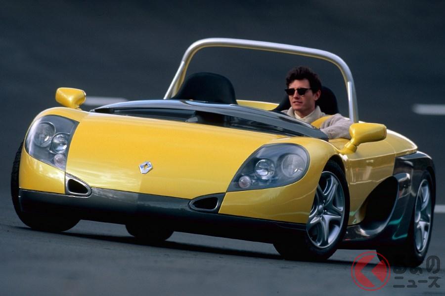 公道を走れるレーシングカーとして企画された「スポールスピダー」