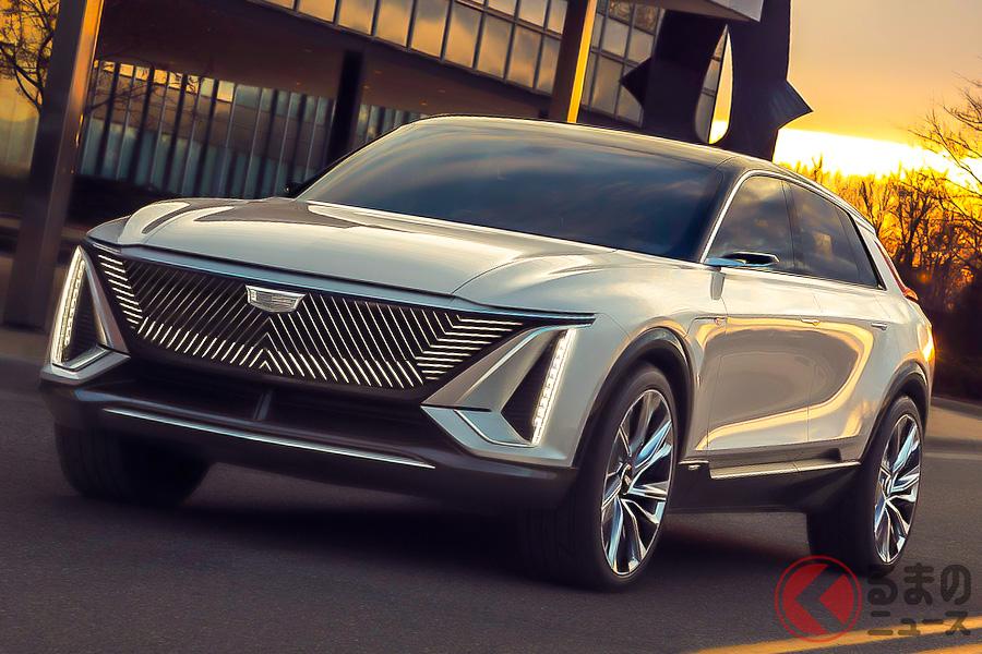 キャデラック「リリック」の生産化は決定しており、2023年モデルとして2022年後半にはプロダクションモデルが登場する予定
