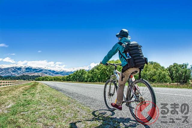 コロナ禍では自転車移動をする人も増えているという