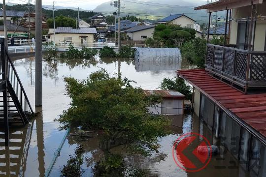 台風被害のイメージ