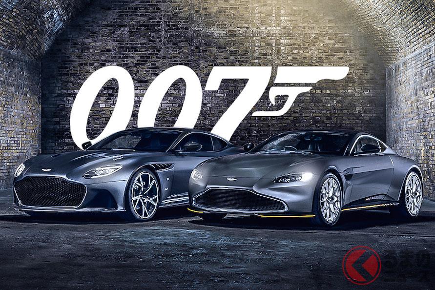 映画『007 ノー・タイム・トゥ・ダイ』からインスピレーションを受けた2台の「007エディション」