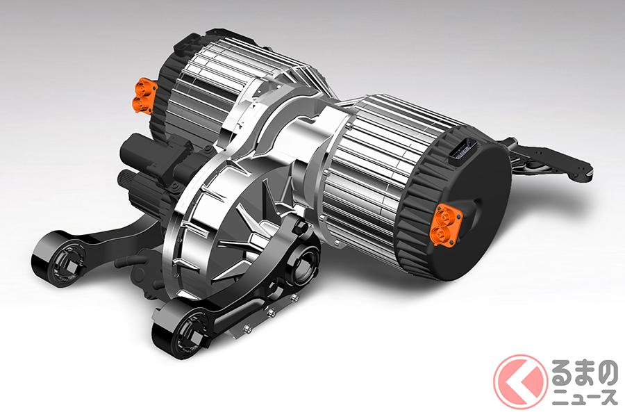 ベントレー・モーターズが開発した、レアアースと同巻線を使わない電気駆動システム