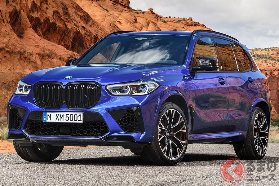 BMWの量産車でもっともパワーがある「X5 M コンペティション」