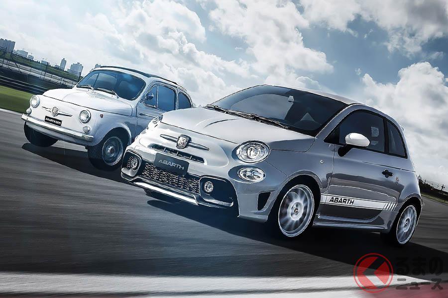 往年の「595」トップエンドモデルである「595 SS」の血統を受け継ぐ限定車アバルト「595/595C エッセエッセ」が、計305台限定で販売される