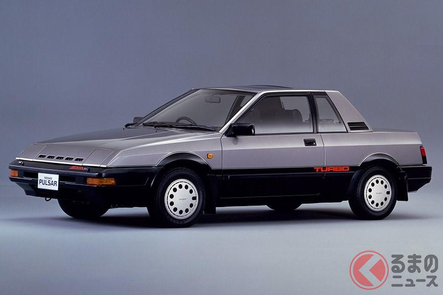 国内モデルで初となるドアミラーを採用した「パルサーEXA」
