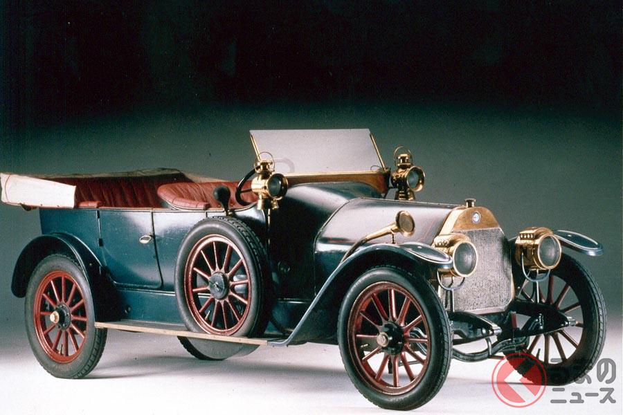 1910年製 「アルファ ロメオ 24HP」は右ハンドルだった