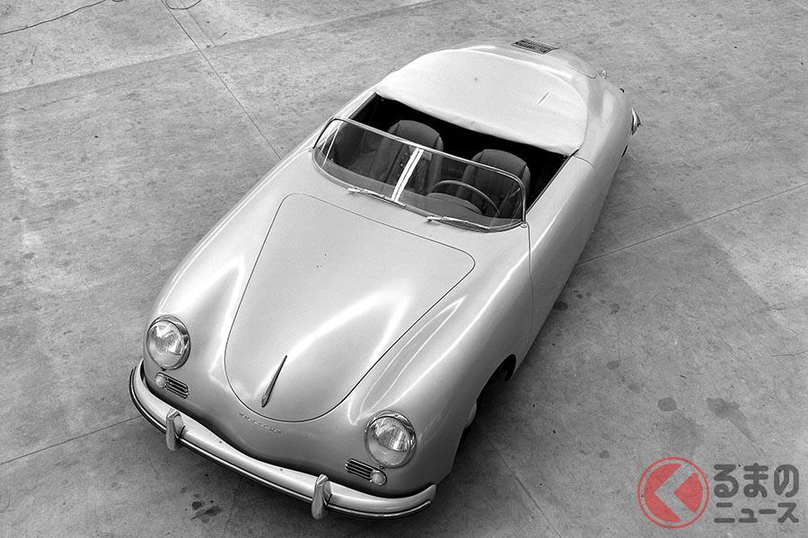 ポルシェの起源である「356」。写真は1954年製「356A 1600S スピードスター」
