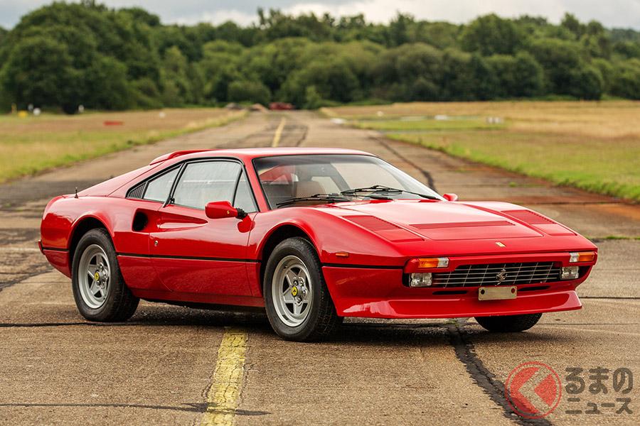 およそ590万円で落札された1985年式フェラーリ「308GTBクワトロバルボーレ」(C)2020 Courtesy of RM Sotheby's