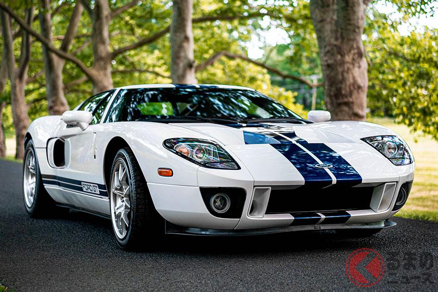 2005年式フォード「GT」は、29万1500ドル(邦貨換算約3080万円)で落札(C)2020 Courtesy of RM Sotheby's