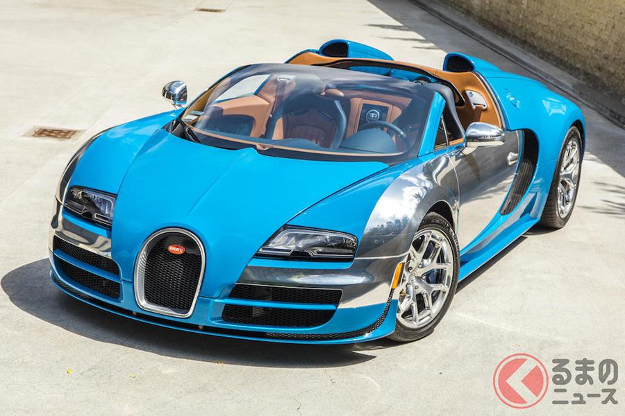 約1億8500万円で落札された、2014年式ブガッティ「ヴェイロン16.4 グランスポーツ・ヴィテッセ・メオ・コスタンティーニ」(C)Bonhams