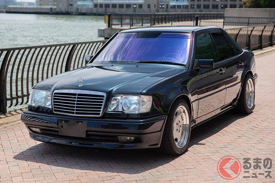 もともと人気の高いW124型の「E500」がベースとなる1994年式メルセデス・ベンツ E60 AMG(C)2020 Courtesy of RM Sotheby's