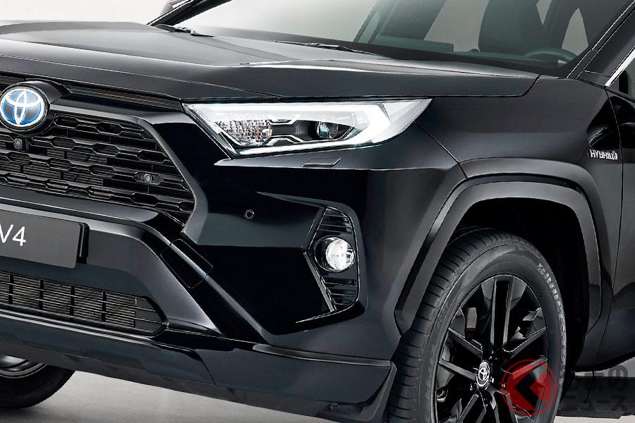 欧州で販売される特別モデル「RAV4 Hybrid Black Edition」