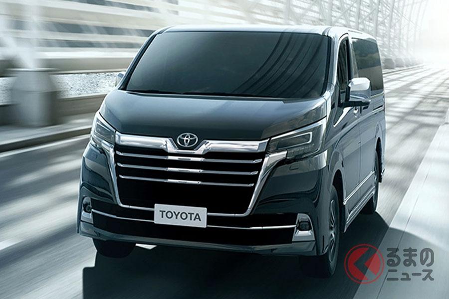 台湾トヨタが発表した新型「グランビア」