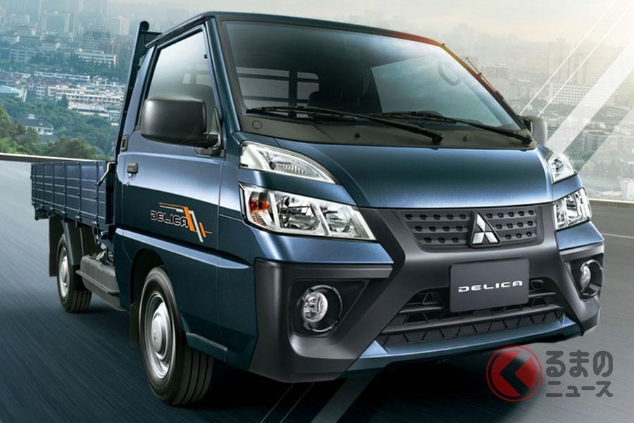 台湾で発表された三菱新型「デリカ」(画像:台湾三菱公式サイトより)