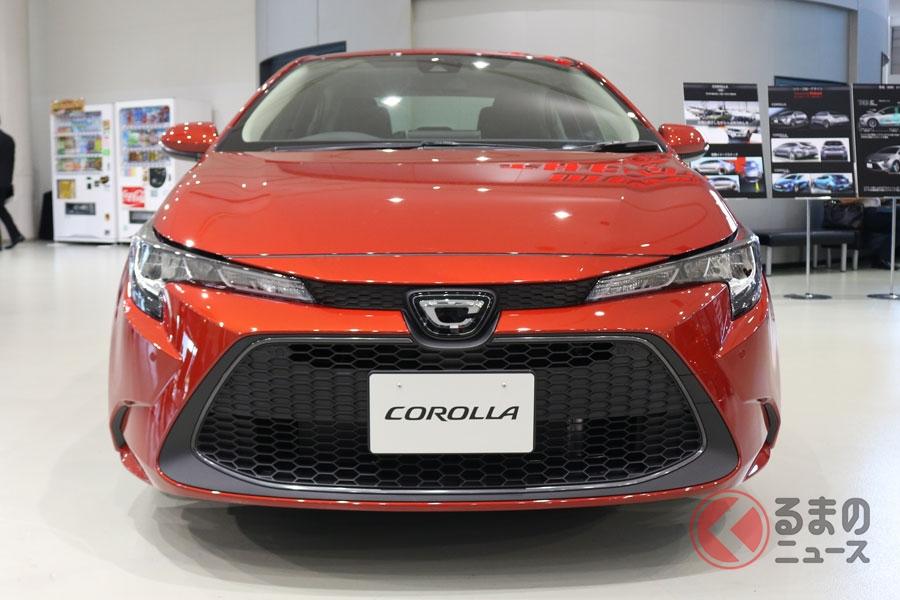 トヨタ新型「カローラ」