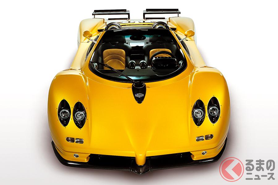 パガーニには、オープンモデルの「ゾンダ・ロードスター」も追加された