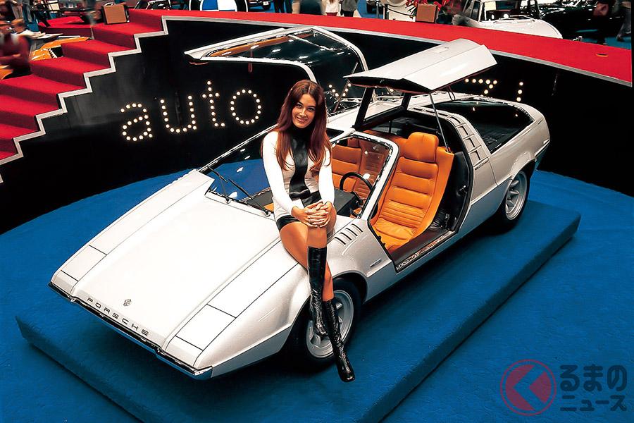 1970年のトリノ・ショーに、ポルシェではなくフォルクスワーゲンのブースから出展された「タピーロ」