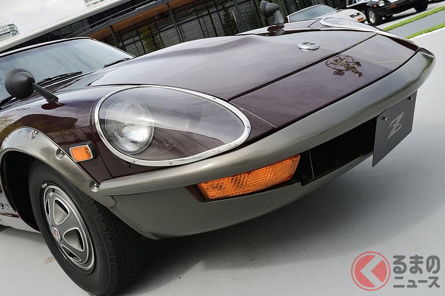 新型のヘッドライトのデザインは「240ZG」をインスパイア