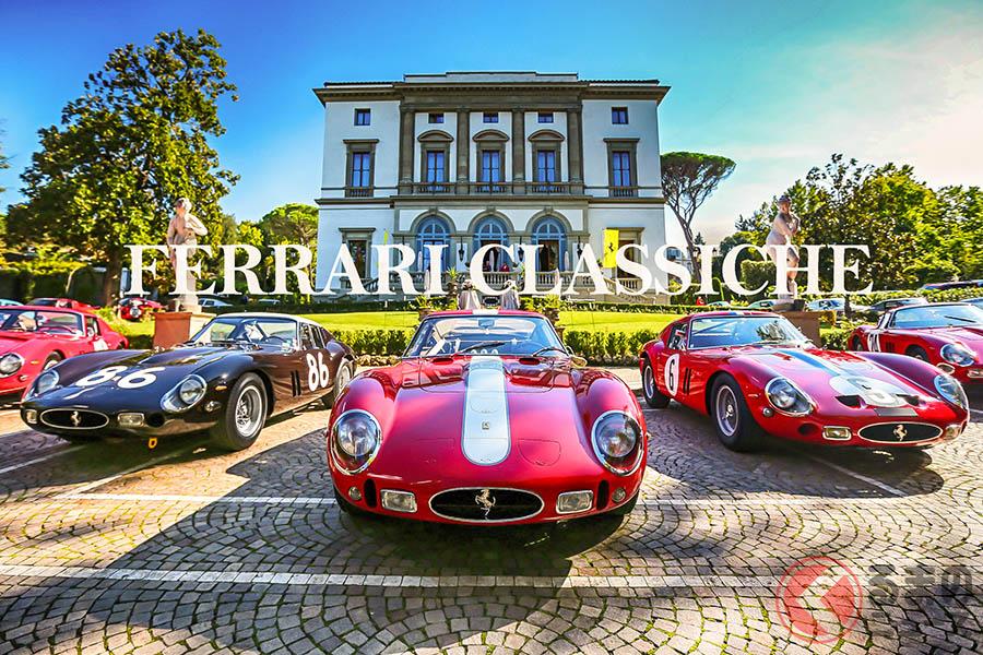 クラシック・フェラーリの価格が高いのは、ブランド力と人気に加え、フェラーリが与える車両認定証明書、その名も「クラシケ」の存在が大きい