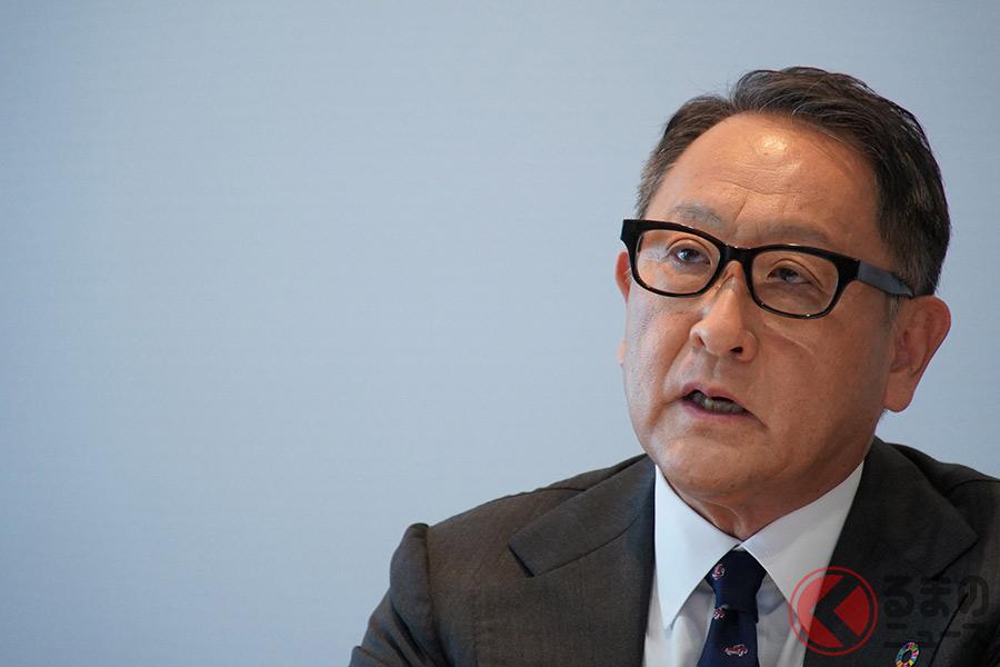 日本自動車工業会 豊田章男会長