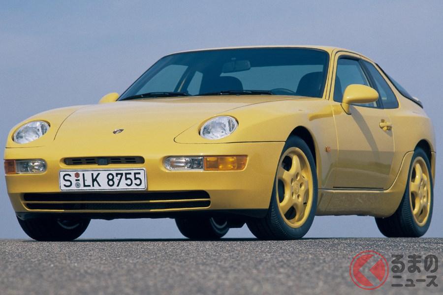 ポルシェ最後のFRスポーツカーとなった「968」