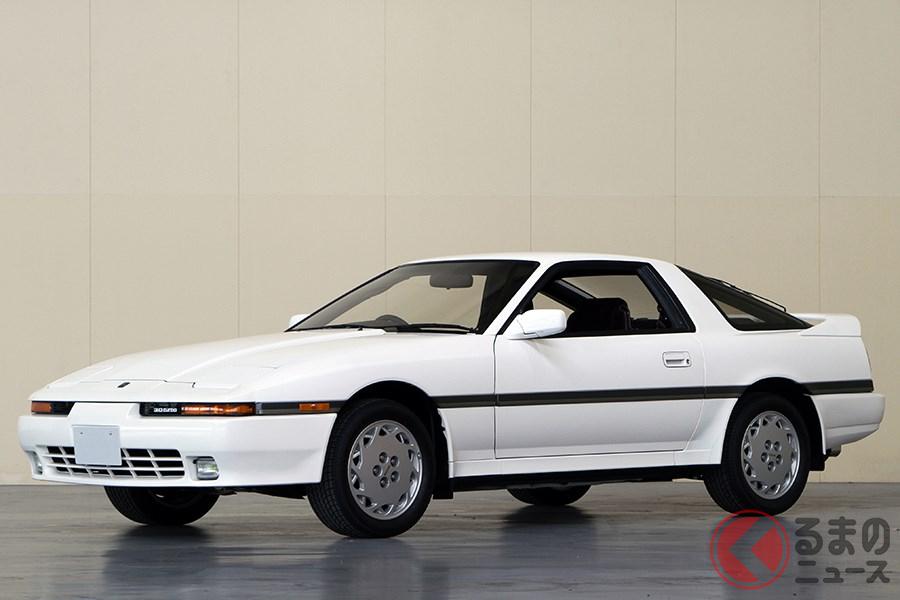 GTカーとして一気に高性能化を果たした初代「スープラ」