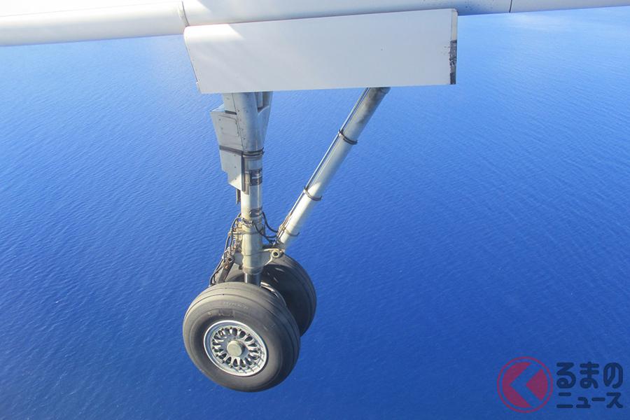 航空機用タイヤには窒素ガスが充てんされている