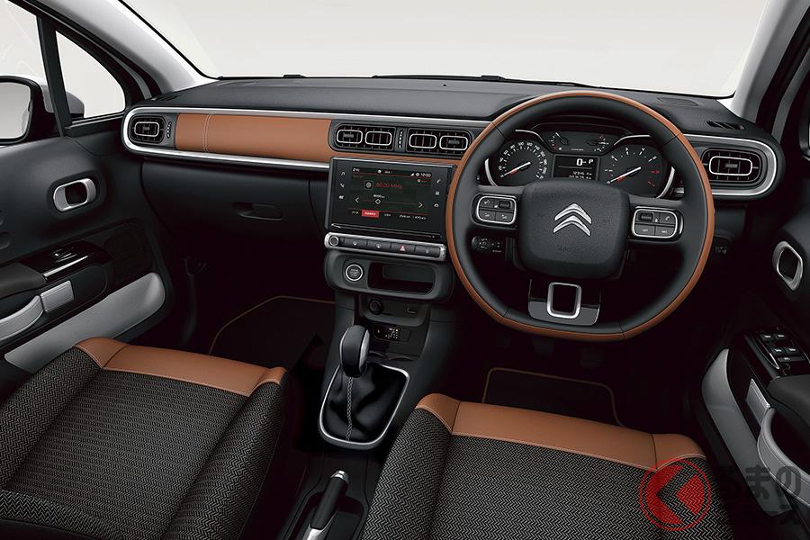 シトロエン「C3」の特別仕様車、C3インスパイアード バイ ジャパン コレクションのインテリア(各色共通)
