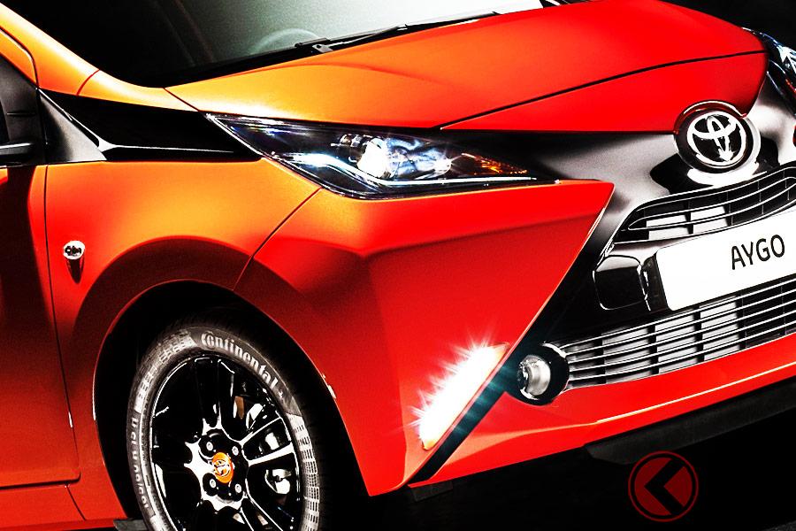 軽自動車の前に立ちはだかるAセグメントモデル(画像:Toyota「aygo」)